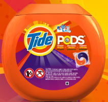 Tide Pods1 4 FREE Lid Re Sealable Stickers for Tide Pod Tubs