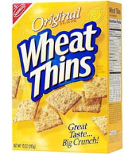 Wheat Thins FREE Box of Wheat Thins (Twitter)