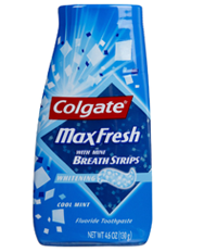 Colgate Max Fresh Toothpaste 2 FREE Colgate Max Fresh Toothpaste at Dollar Tree