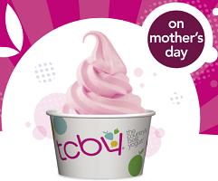 Free cup of tcby yogurt for moms on mothers day on 512 frozen yogurt for moms at tcby publicscrutiny Image collections