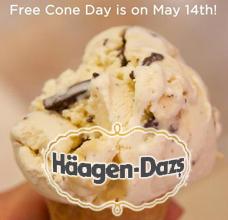 Haagen-Dazs-FREE-Cone-Day