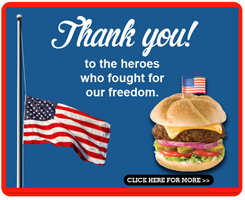 Shoneys memDAY 2013 FREE All American Burger at Shoneys for Military Members on 05/27