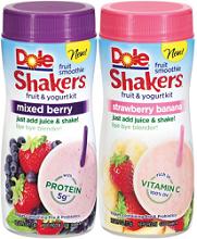 Dole Fruit Smoothie Shakers FREE Dole Fruit Smoothie Shaker at Target
