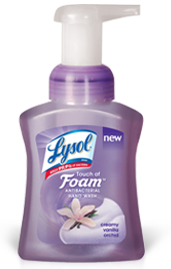 Lysol Touch of Foam FREE Lysol Touch of Foam Sample (Select Locations)
