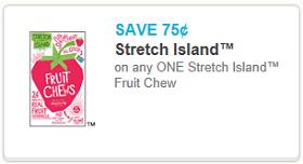 Stretch Island Fruit Chews Coupon
