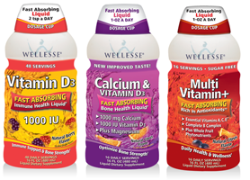Wellesse Liquid Supplements FREE Wellesse Liquid Supplement Sample Pack