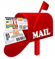 Image result for coupon by mail pic