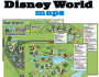 Disney Parks Customized Maps