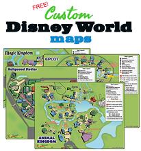 Disney Parks Customized Maps FREE Disney Parks Customized Maps