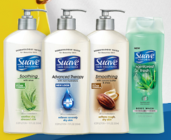 Suave Naturals FREE Suave Naturals Body Wash Sample Giveaway