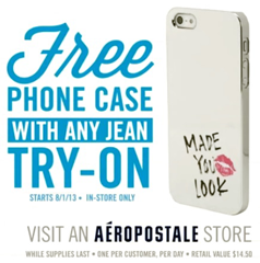 FREE phone case when you try o...