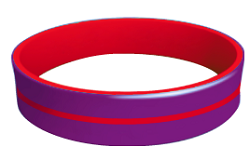 Chronic Migraine Awareness Wristband