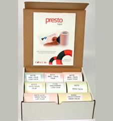 FREE Sample Kit of Presto Tapes - Hunt4Freebies