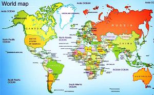 Free world map for teachers hunt4freebies free world map for teachers gumiabroncs Images