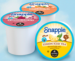 k cups sampler FREE Brew Over Ice Snapple K Cup Pack Sampler Box