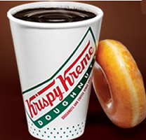Coffee-at-Krispy-Kreme
