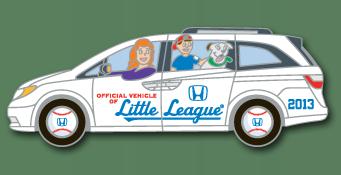 Honda Little League Collector Pin