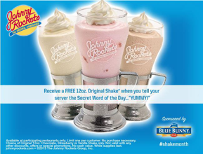 Johnny-Rockets-FREE-Shake