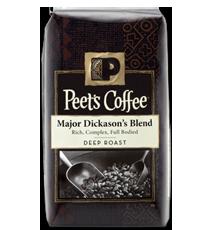 Peets Major Dickasons Blend coffee FREE Peet's Major Dickason's