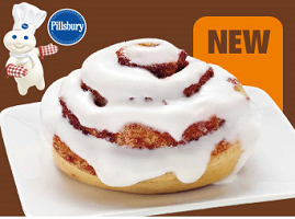 Pillsbury Cinnamon Roll at 7-Eleven