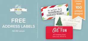 24 free address labels from pear tree greetings hunt4freebies address labels from pear tree greetings m4hsunfo