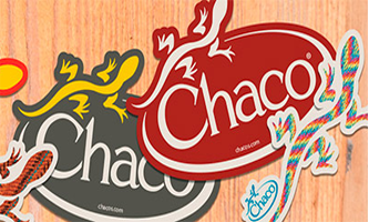 Chaco-Sticker