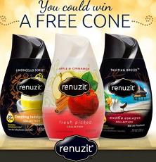 FREE Renuzit Cone Giveaway