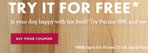 Purina Free Offer