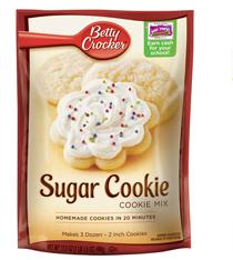 Sugar Cookie Mix FREE Sugar Cookies Mix for Betty Crocker Members