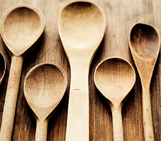 Tuttorosso Wooden Cooking Spoon