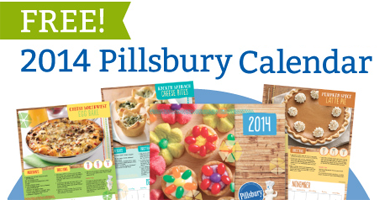 2014 Pillsbury Calendar1 FREE 2014 Pillsbury Calendar