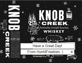 Knob Creek3 3 FREE Personalized Liquor Bottle Gift Labels
