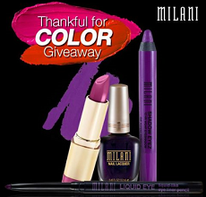 Milani Thankful for Color Giveaway