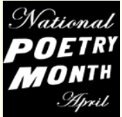 National Poetry Month Poster FREE 2014 National Poetry Month Poster