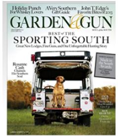 garden and gun magazine. Garden Gun Magazine New And