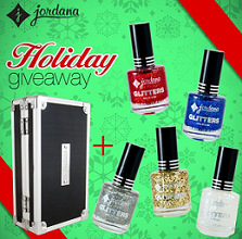 Jordana Cosmetics Holiday Giveaway