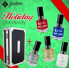 Jordana Cosmetics Holiday Giveaway