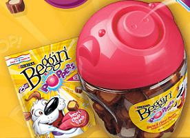 Nestle Purina Beggin Party Poppers