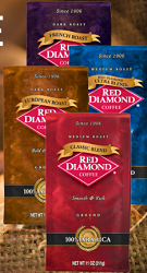 FREE Red Diamond Coffee Sample...