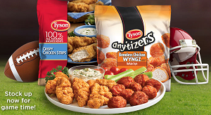 Tyson Anytizers Sweepstakes
