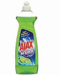 Bottle Of Ajax Dish Liquid FREE Bottle Of Ajax Dish Liquid