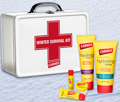 Carmex Winter Survival Kit