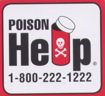 Poison Help Magnet FREE Poison Help Magnets and Stickers