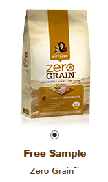Rachael Ray Zero Grain Dog Food FREE Rachael Ray Zero Grain Dog Food Sample