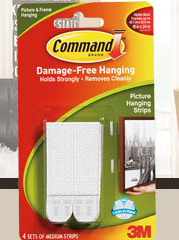 Command Picture Hanging Strips FREE 3M Command Prize Pack Giveaway