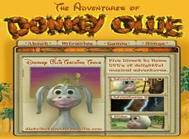 Donkey Ollie DVD FREE Donkey Ollie DVD for Kids (Religious)