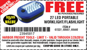 FREE Tools at Harbor Freight (In-Store) - Hunt4Freebies