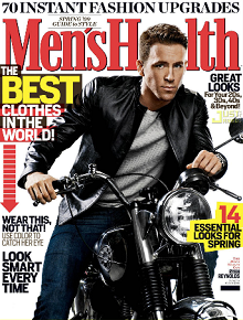 Mens Health Magazine New FREE Subscription to Men's Health Magazine