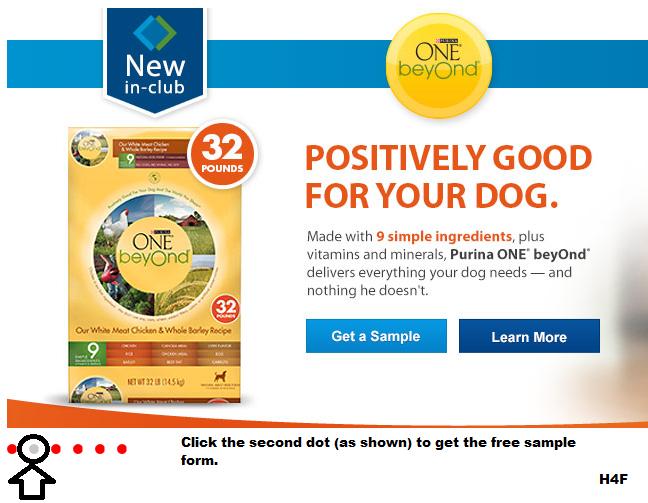 FREE Purina ONE Beyond Dog Food Sample - Hunt4Freebies
