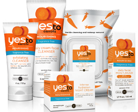 Yes TO Carrots Fragrance Free Wipes